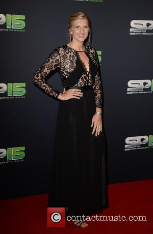 Rebecca Adlington - arrives the Titanic building in Belfast for the BBC Sports Personality Of The Year Awards - Belfast,...