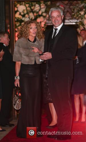 Kelly Hoppen - Wedding of Christine Bleakley and Frank Lampard at St. Paul's Knighstbridge - London, United Kingdom - Sunday...