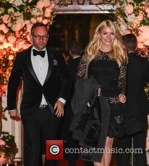 Holly Willoughby , Daniel Baldwin - Wedding of Christine Bleakley and Frank Lampard at St. Paul's Knighstbridge - London, United...