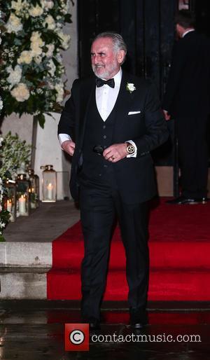 Frank Lampard , Sr. - Wedding of Christine Bleakley and Frank Lampard at St. Paul's Knighstbridge - London, United Kingdom...