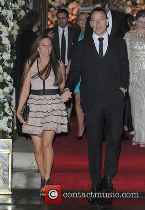 John Terry , Toni Terry - Wedding of Christine Bleakley and Frank Lampard at St. Paul's Knighstbridge - London, United...