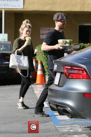 Aaron Paul and Lauren Parsekian