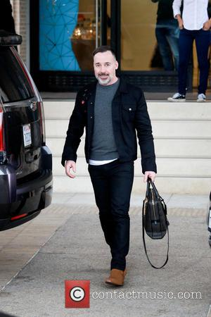 David Furnish - Elton John and David Furnish on a christmas shopping spree at Barneys New York in Beverly Hills...