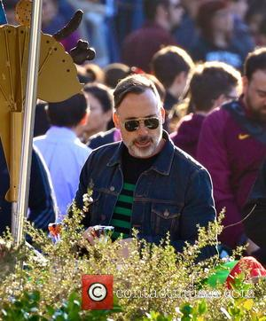 David Furnish - Elton John celebrated his son Zachary birthday at the Happiest Place on Earth. He was accompanied by...