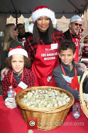 Jax Joseph Nilon, Jaid Thomas Nilon and Garcelle Beauvais