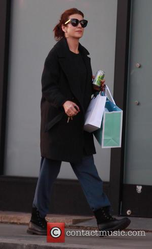 Kate Walsh - Newly single Grey's Anatomy star, Kate Walsh out shopping in Beverly Hills - Los Angeles, California, United...