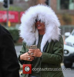 Katie Price , Jordan - Katie Price arrives at the New Victoria Theatre in Woking for her last two performances...