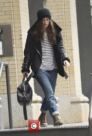 Keira Knightley - Keira Knightley Departs for Broadway Matinee at Tribeca, NYC - New York, New York, United States -...