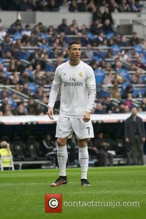 Cristiano Ronaldo - Real Madrid CF vs. Real Sociedad football match at Estadio Santiago Bernabeu in Madrid - Madrid, Spain...