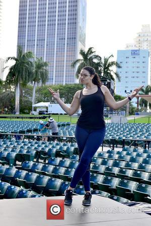 Jordin Sparks - Pitbull's New Year's Revolution rehearsal at Bayfront Park at Bayfront Park - Miami, Florida, United States -...