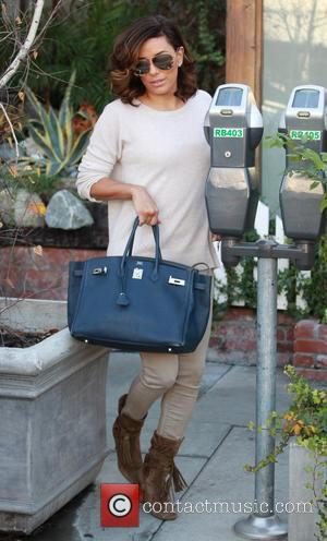 Eva Longoria - Eva Longoria leaves Ken Paves salon in Hollywood on New Year's Eve - Los Angeles, California, United...