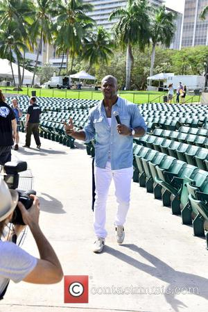 Terry Crews - Pitbull's New Year's Revolution rehearsal at Bayfront Park at Bayfront Park - Miami, Florida, United States -...