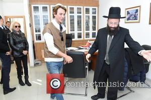 Jonathan Cheban and The Western Wall Rabbai Mr.shmuel Rabinowitz
