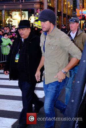 Luke Bryan - Celebrities at the 2016 New Years Eve in Times Square at Times Square - Manhattan, New York,...