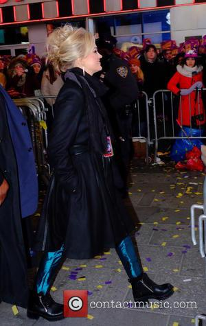 Carrie Underwood - Celebrity at 2016 New Years Eve in Times Square at Times Square - Manhattan, New York, United...