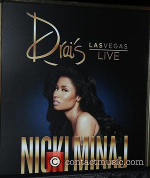 Atmosphere - Nicki Minaj Rings in 2016 with Exclusive Dria's LIVE Performance at Drai's Nightclub Las Vegas on 12-31-15 at...