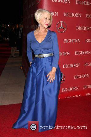 Helen Mirren - 27th Palm Springs International Film Festival Gala at the Palm Springs Convention Center - Arrivals at Palm...