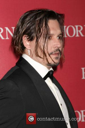 Johnny Depp - 27th Palm Springs International Film Festival Gala at the Palm Springs Convention Center - Arrivals at Palm...
