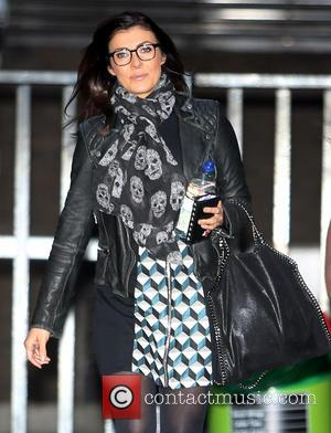 Kym Marsh - Kym Marsh outside ITV Studios today - London, United Kingdom - Monday 4th January 2016