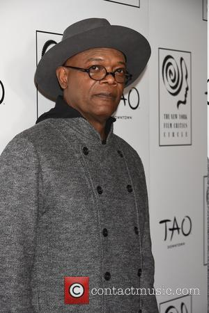 Samuel L. Jackson - New York Film Critics Circle Awards at TAO Downtown - Red Carpet Arrivals at TAO downtown...
