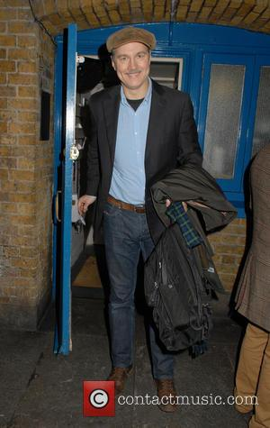 David Morrissey - David Morrissey leaving Wyndham's Theatre after performing in 'Hangmen' - London, United Kingdom - Tuesday 5th January...