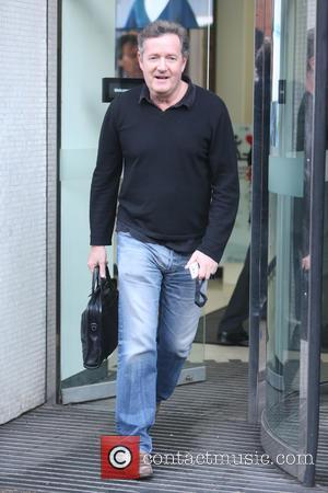Piers Morgan - Piers Morgan outside ITV Studios - London, United Kingdom - Tuesday 5th January 2016