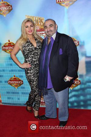 Tia Barr and Ken Davitian