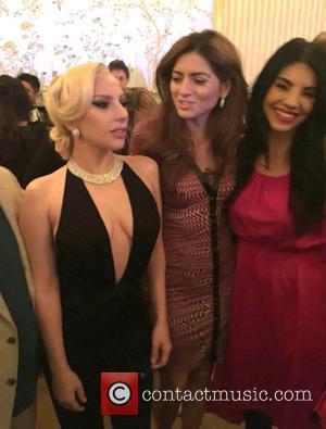 Lady Gaga, Blanca Blanco and Tilda Del Toro