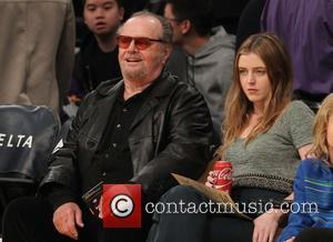 Jack Nicholson , Lorraine Nicholson - Celebrities watch the Los Angeles Lakers play The Golden State Warriors at Staples Center...