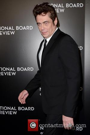 Benicio del Toro - 2015 National Board Of Review Gala - Red Carpet arrivals - New York, New York, United...