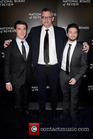 Finn Wittrock, Adam Mckay and John Magaro