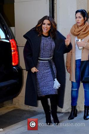 Eva Longoria - Eva Longoria at Huffington Post - New York City, New York, United States - Tuesday 5th January...