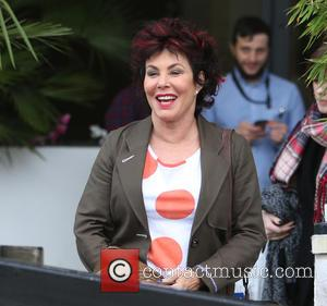 Ruby Wax - Ruby Wax outside ITV Studios today - London, United Kingdom - Tuesday 5th January 2016