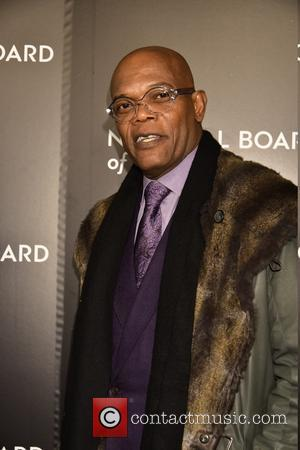 Samuel L. Jackson - National Board of Review Gala at Cipriani 42nd.St - Arrivals at Cipriani 42nd.st. - New York...