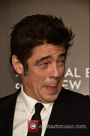 Benicio Del Toro - National Board of Review Gala at Cipriani 42nd.St - Arrivals at Cipriani 42nd.st. - New York...