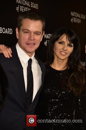 Matt Damon and Luciana