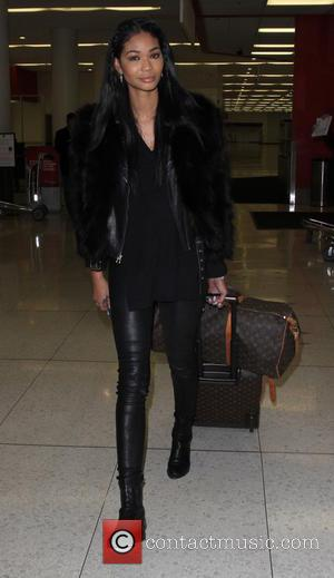 Chanel Iman - Chanel Iman departs on a flight from Los Angeles International Airport (LAX) - Los Angeles, California, United...