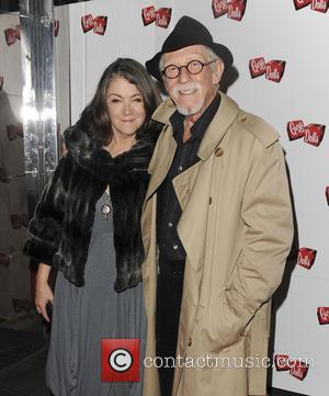 John Hurt Anwen Rees Myers - Various celebrities attend Guys and Dolls Press Night - London, United Kingdom - Wednesday...