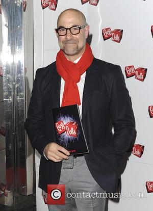 Stanley Tucci - Various celebrities attend Guys and Dolls Press Night - London, United Kingdom - Wednesday 6th January 2016