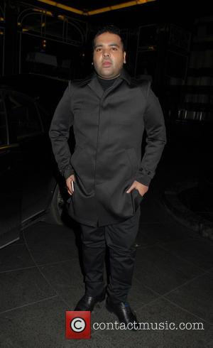 Naughty Boy - Celebrities attend Guys and Dolls press night at Savoy Theatre - London, United Kingdom - Wednesday 6th...