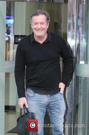 Piers Morgan - Piers Morgan outside ITV Studios - London, United Kingdom - Wednesday 6th January 2016