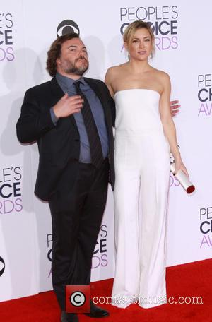 Jack Black , Kate Hudson - People's Choice Awards 2016 - Arrivals held at the Microsoft Theatre L.A. Live at...