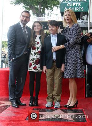 Steve Carell, Elisabeth Anne Carell, John Carell and Nancy Carell