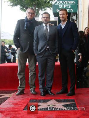 Adam Mckay, Steve Carell and Ryan Gosling