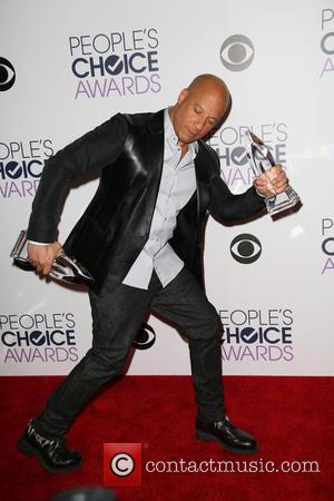 Vin Diesel - People's Choice Awards 2016 held at Microsoft Theatre L.A. Live. - Press Room at Microsoft Theatre L.A....