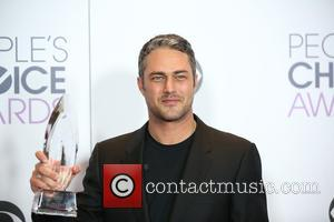 Taylor Kinney - People's Choice Awards 2016 held at Microsoft Theatre L.A. Live. - Press Room at Microsoft Theatre L.A....