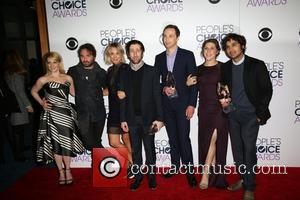 Melissa Rauch, Johnny Galecki, Kaley Cuoco, Simon Helberg, Jim Parsons, Mayim Bialik , Kunal Nayyar - People's Choice Awards 2016...