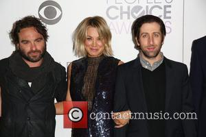 Johnny Galecki, Kaley Cuoco , Simon Helberg - People's Choice Awards 2016 held at Microsoft Theatre L.A. Live. - Press...