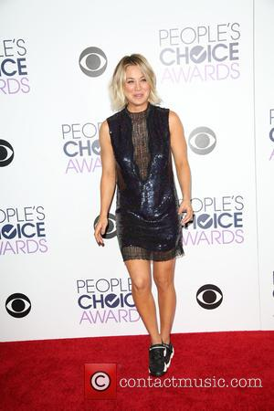 Kaley Cuoco - People's Choice Awards 2016 held at Microsoft Theatre L.A. Live. - Press Room at Microsoft Theatre L.A....