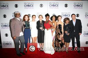 James Pickens, Jr., Sarah Drew, Camilla Luddington, Ellen Pompeo, Jerrika Hinton, Kelly Mccreary, Caterina Scorsone, Chandra Wilson and Justin Chambers